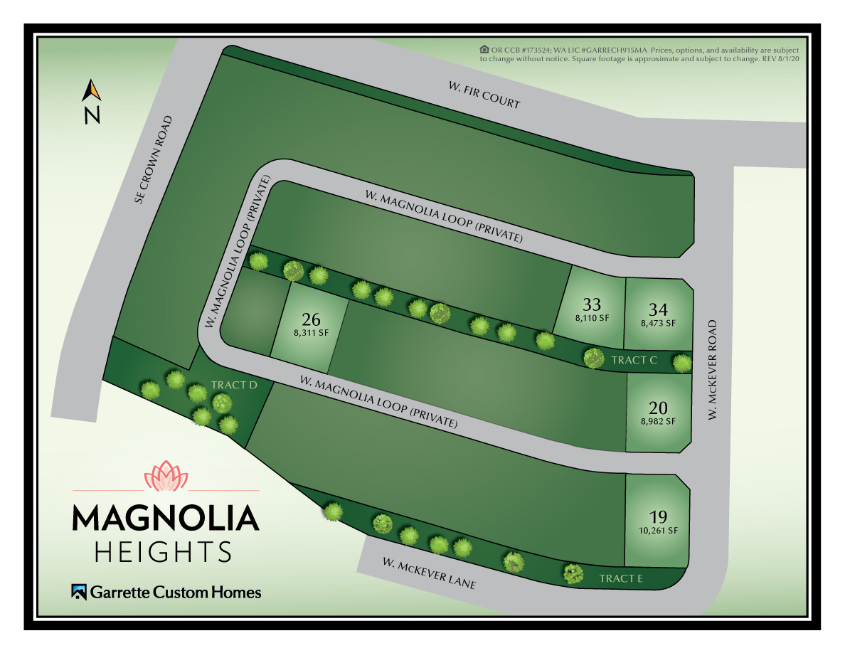 Washougal WA Homes at Magnolia Heights