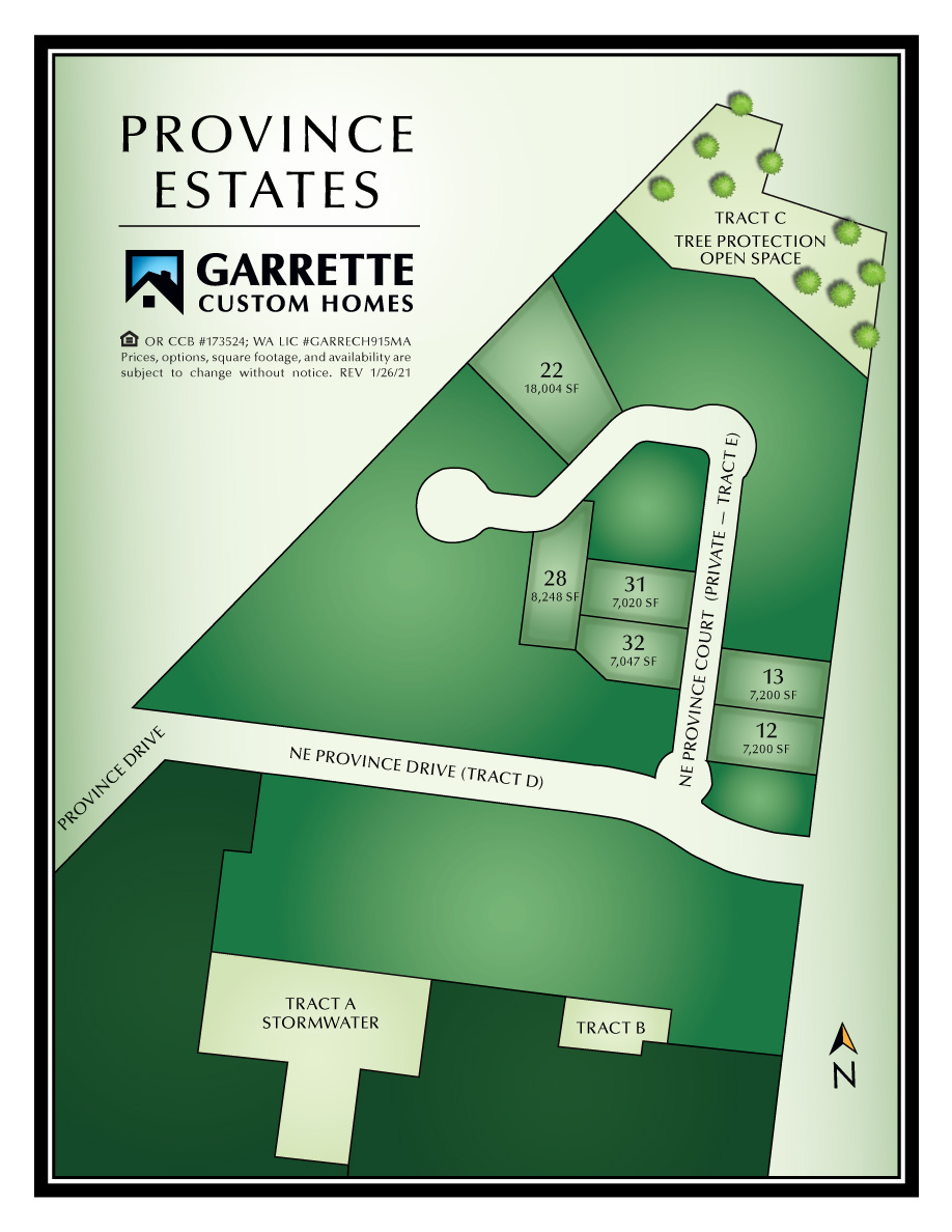 Homes in Vancouver WA at LaLonde Creek Estates
